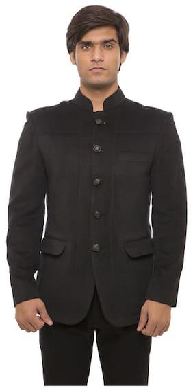 Platinum Studio Black Blazer (Size-38)