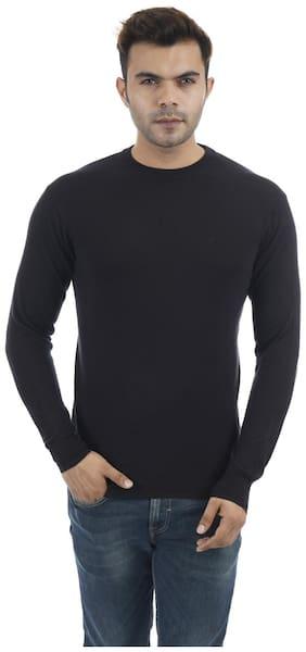 Portobello Men Black Round neck Pullover