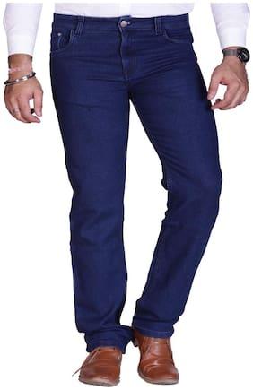 Prankster Men Blue Regular Fit Jeans