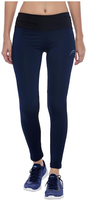 Women Polyester Solid Tights ,Pack Of 1