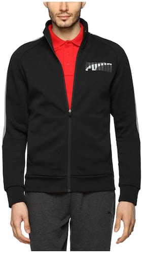 Puma Black Men Jackets