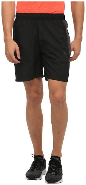 Puma Black Polyester Shorts
