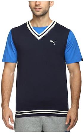 Puma Blue Men Sweatshirts
