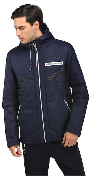 6c9a3eb1167 Buy Puma Blue Men Regular Jackets Online at Low Prices in India ...