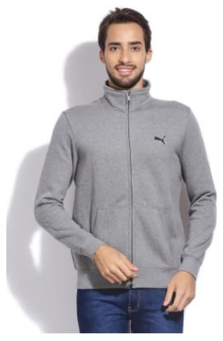 02da293fac4d Buy Puma ESS Sweat Jacket FL Online at Low Prices in India ...