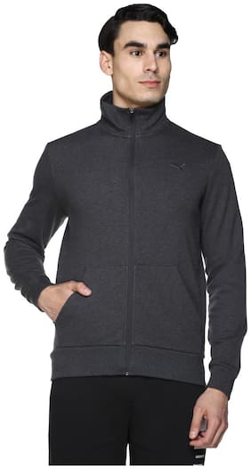 Puma Grey Men Slim Jackets
