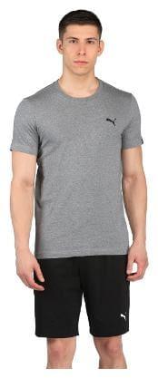 Puma Men Round neck Sports T-Shirt - Grey
