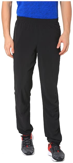 Puma Men Polyester Blend Track Pants - Black