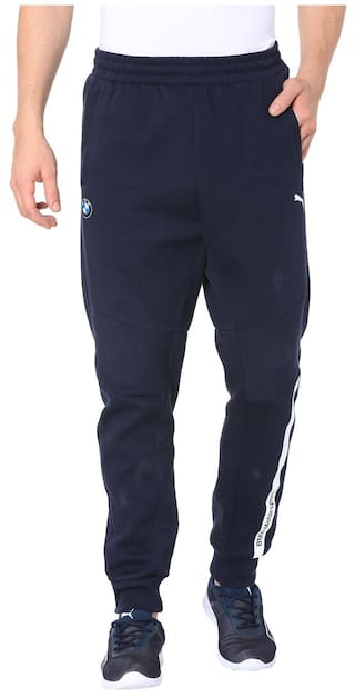 8c4032fd1949 Buy Puma Men Cotton Track Pants - Blue Online at Low Prices in India ...