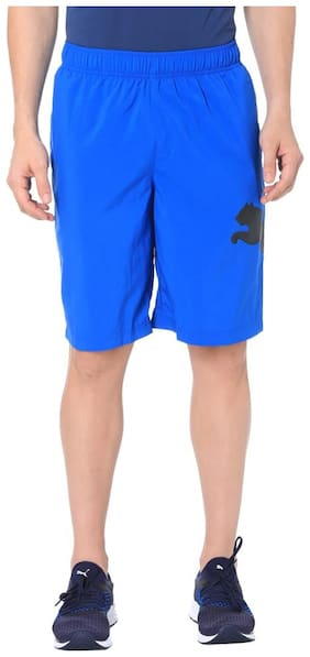 Puma Men Polyester blend Shorts - Blue