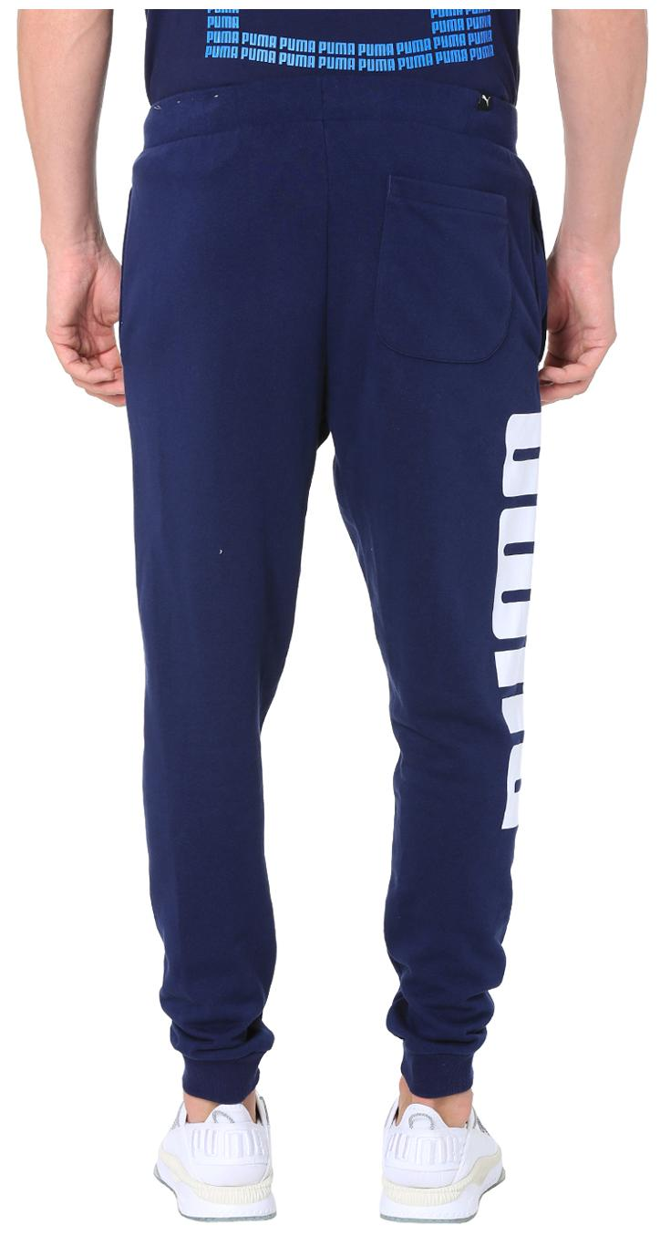 004cff3fb70e Buy Puma Men Cotton Track Pants - Blue Online at Low Prices in India -  Paytmmall.com