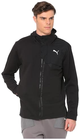 Puma Men Cotton Jacket - Black