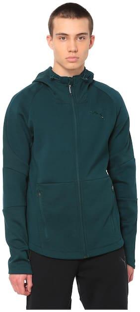 Puma Men Cotton Jacket - Green