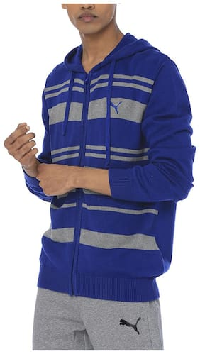 Men Polyester Quilted Jacket