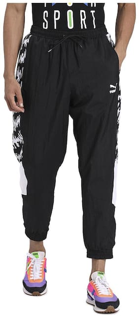 Regular Fit Nylon Track Pants Pack Of 1