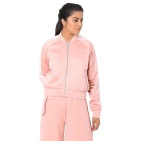 Puma Peach Polyester Jackets