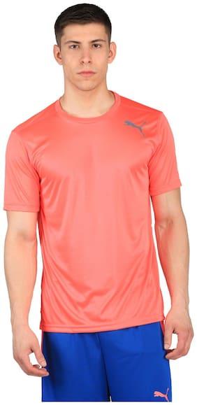 Puma Pink Men Regular TShirt