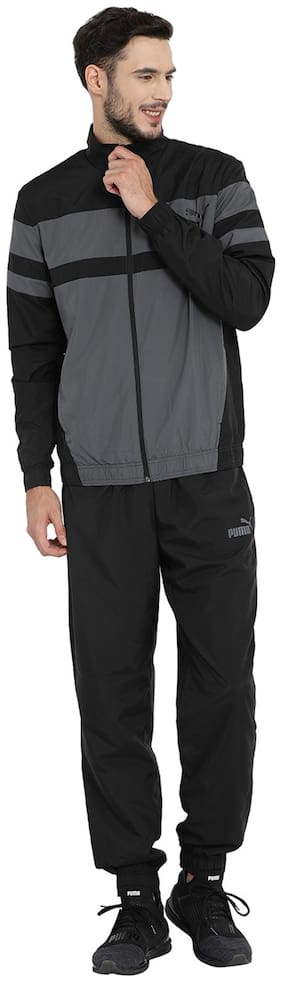 Regular Fit Polyester Track Suit