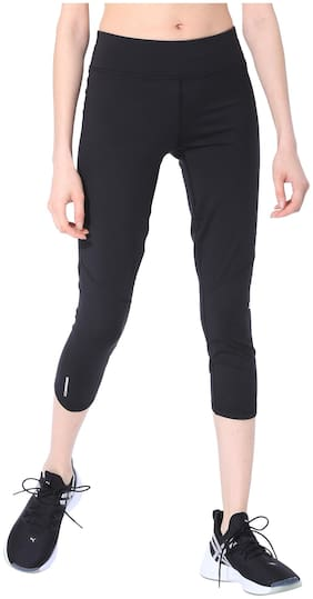 Women Polyester Solid Tights