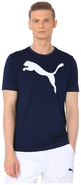 Men Round Neck Logo T-Shirt Pack Of 1