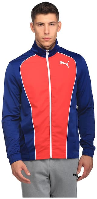 Puma Red Men Regular Track Suits