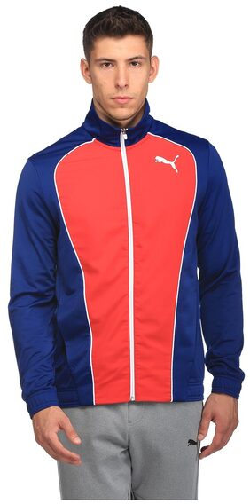 Puma Men Polyester Blend Track Suit - Red
