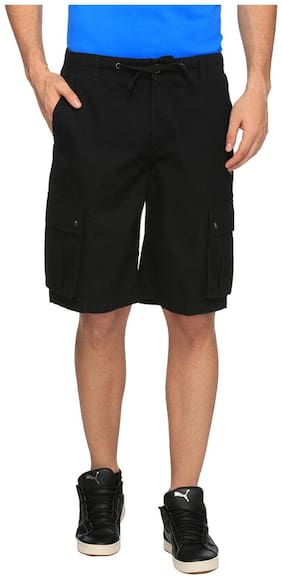 Puma Regular Black Men Shorts