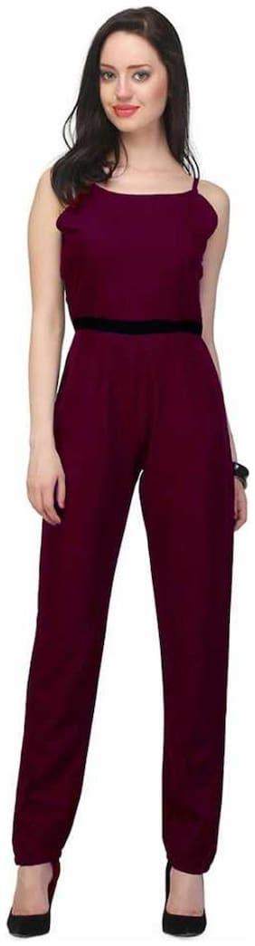 ZISAAN Solid Jumpsuit - Purple