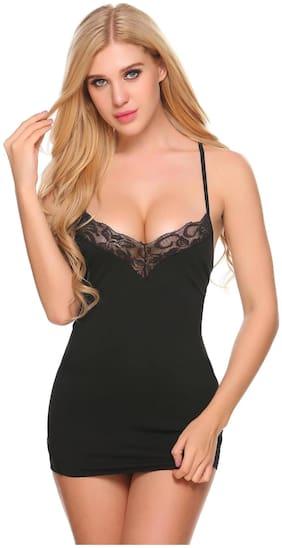 PYXIDIS Babydoll nighty dress in soft viscose fabric fpr women and girls