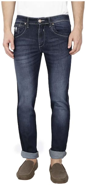 Raa Jeans Men Blue Regular Fit Jeans