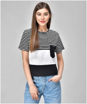 Women Half Sleeves T Shirt ,Pack Of 1