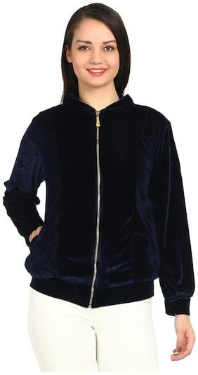 Women Solid Sweatshirt