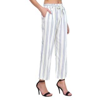 Drosting Raabta Cotton Strip with White Pant zggqXTw