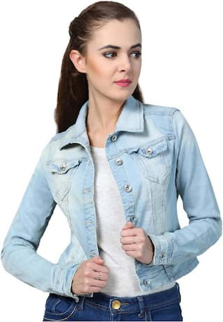 RAFFLESIA TOLPIS Women Summer jacket - Blue