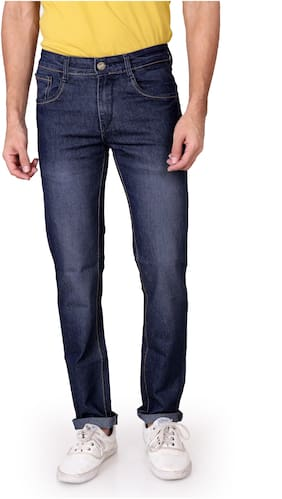RAGZO Men Low rise Slim fit Jeans - Blue
