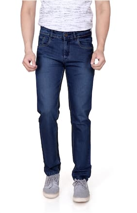 RAGZO Men Mid rise Slim fit Jeans - Blue