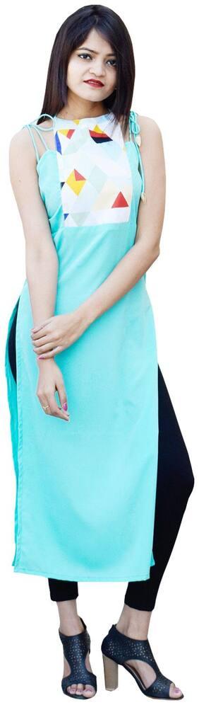 Rajkumari dress up like a princess Women Multi Printed Straight Kurta