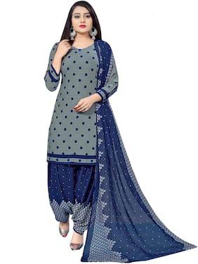 Women Cotton Blend Dress Material Pack of 3