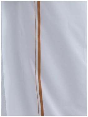 Ramraj Cotton Mundu Dhoti - White