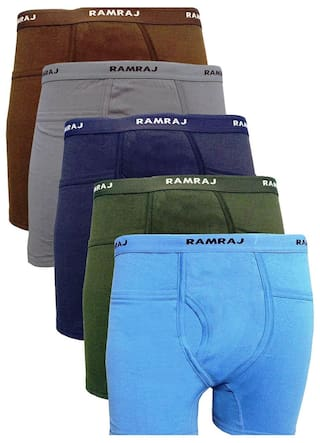 253591a3c109 Buy Ramraj Trunks Pack of 5 Online at Low Prices in India ...