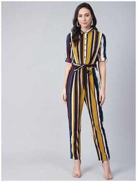 Women Striped Jumpsuit