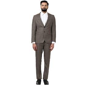 Raymond Men Polyester Slim Fit Suit - Grey