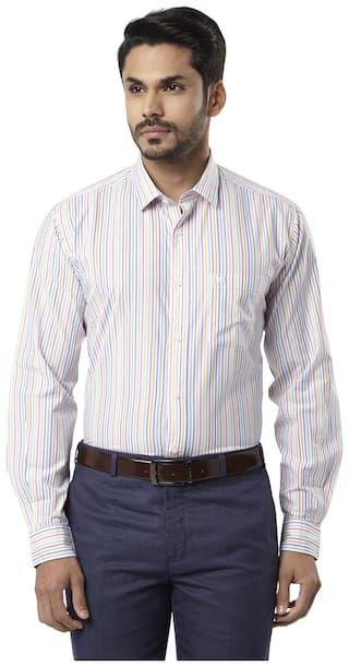 Raymond Men Slim fit Formal Shirt - White