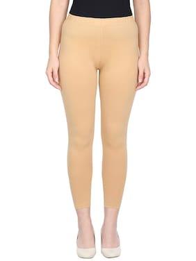Real Dream Women Ankle Length Solid Leggings