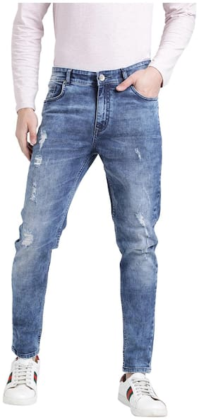 REALM Men Mid rise Skinny fit Jeans - Blue