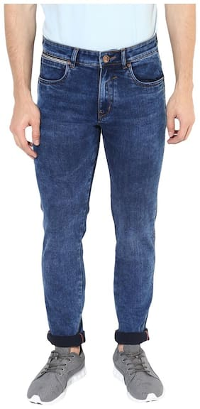 REALM Men Mid rise Regular fit Jeans - Blue