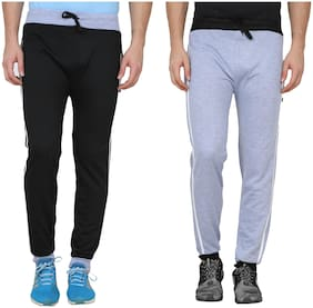 REC SWAGGY SOLID MEN'S TRACK PANTS (PACK OF 2)