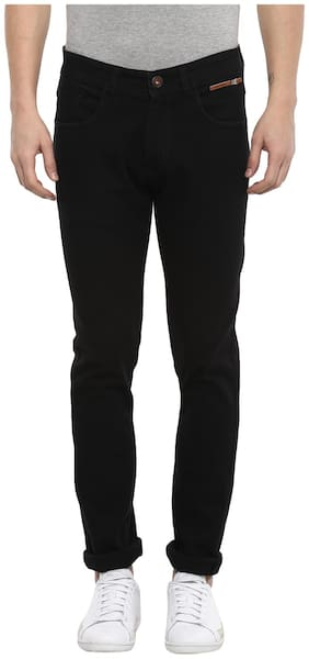 Red Chief Men Mid rise Narrow fit Jeans - Black
