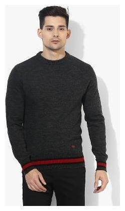 Men Cotton Full Sleeves Sweater