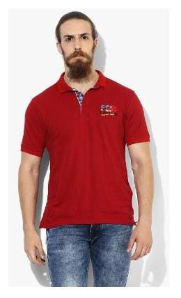 af2ab85b Buy Red Chief Men's Polo Printed T-Shirt - Red (8220089 016) Online ...